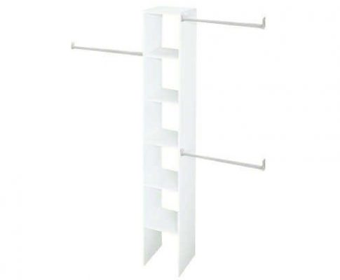 Selectives 12″ Custom Closet Organizer in White, Made with Solid Support Laminate Construction – Perfect for Shoes, Kids Toys, Towels or Accessories Review