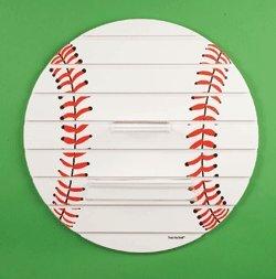 Baseball Shelf- Large 25″ Round Wood Sports Shelf Review