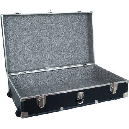 Mercury Luggage Seward Under the Bed Wheeled Storage Footlocker, 31