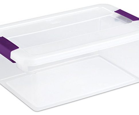 12 Pack Sterilite 17531712 15-Quart ClearView Latch Box Storage Tote Containers Review