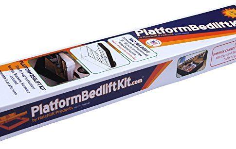 Platform Bedlift Kit (queen-heavy) DIY Under Bed Storage Kit Review