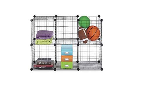 Wire Storage Cube (Set of 6) [Set of 2] Color: Black Review