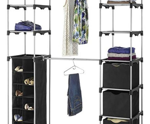 Whitmor Deluxe Double Rod Adjustable Closet Organization System Review
