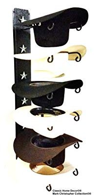 Mark Christopher Collection American Made Cowboy Hat Holder STAR 886 B/S 6 Tier Hat Rack Review