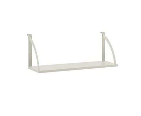 HON Verse Hanging Shelf, 36″ W x 12-3/4″D, Light Gray Finish Review