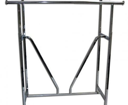Double Rail Garment Clothing Rack with V-Brace Review