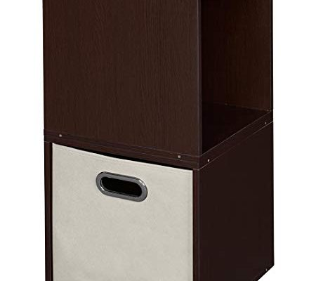 Set of 2 Cubo Modular Storage Cubes and 1 Cubo Foldable Fabric Bin- Truffle/Natural Review