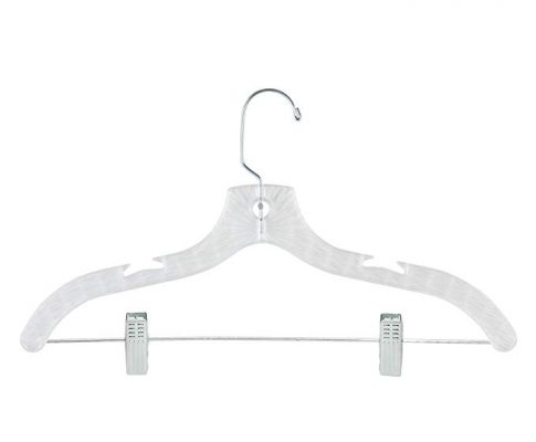Honey-Can-Do HNG-02015 Crystal Cut Suit Hangers, Clear, 80-Pack Review