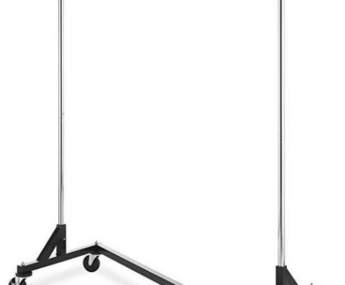 Whitmor Commercial Garment Z-Rack – Silver/Black Review