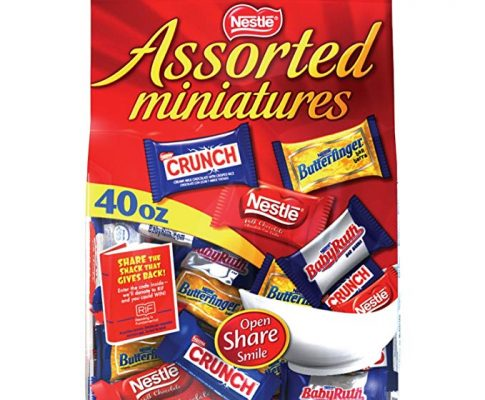 Nestle Assorted Miniatures Bag, Economy Jumbo Package 120-Ounces Total Review