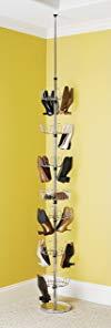 Whitmor 6060-4189BB Floor to Ceiling Shoe Spinner Review