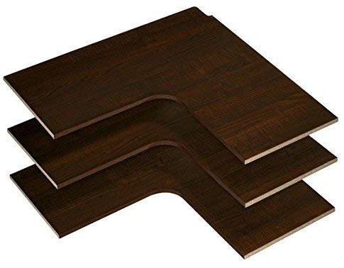 Easy Track RS3003-T Corner Shelves, Truffle, 3-Pack Review