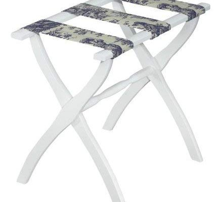 Gate House Furniture Luggage Rack with Toile Straps Review