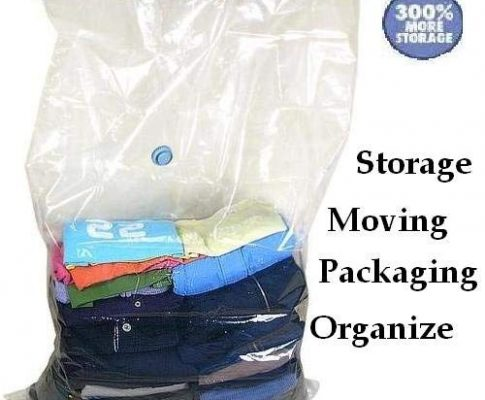 50 PACK Compress Vacuum Seal Storage Bag Space Saver LARGE size wholesale Deal Review
