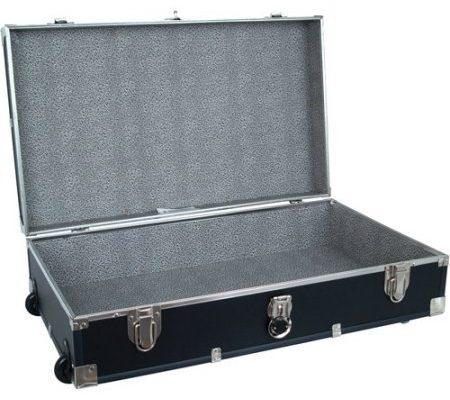 Mercury Luggage Seward Under the Bed Wheeled Storage Footlocker, 31″ in Black Review