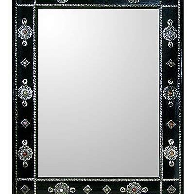 NOVICA Teak Mirror, Ebony Jewels Review