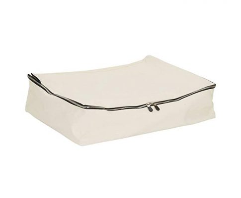 Household Essentials Cedar Stow Clothing Storage Bag, Off White Review