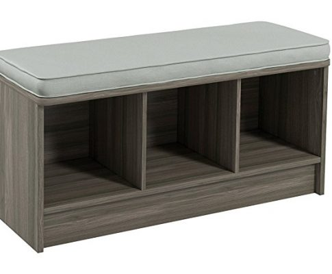 ClosetMaid 3258 Cubeicals 3-Cube Storage Bench, Natural Gray Review