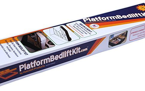 Platform Bedlift Kit (queen-heavy) DIY Under Bed Storage Kit Review