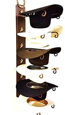 Mark Christopher Collection American Made Cowboy Hat Holder STAR with Genuine Horseshoe 886 6 Tier Hat Rack Review