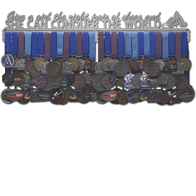 Allied Medal Hangers - Give A Girl The Right Pair Of Shoes And She Can Conquer The World