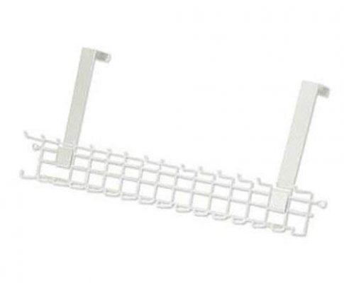 ClosetMaid 1217 Over-The-Door Tie and Belt Rack, White Review