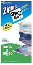 2ct Jumbo Space Bag Review