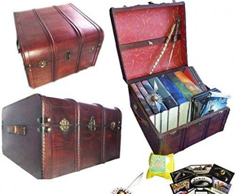 Hogwarts Harry Potter Book and DVD Trunk with Free Golden Snicth Splat and Stickers Review