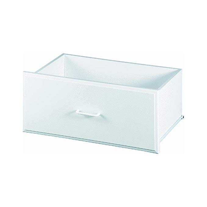 Easy Track RD2512 Deluxe Drawer, White, 12-Inch