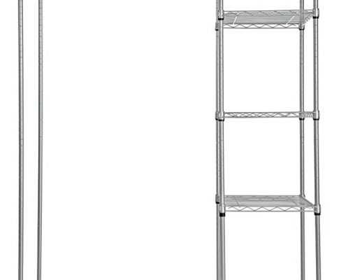 REAL HOME Innovations 015-15058 Real Home Wardrobe,Silver Review