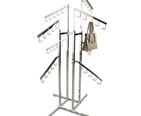 CR-16 Chrome Hangbag Purse Clothing Garment Retail Dispaly Rack Review