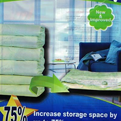 50 PACK XL Space Saver Vacuum Storage Bags Extra Large (47″X32″) Review