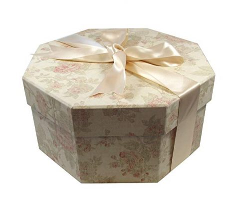 Colorful Hat Box — Antique Pink (Medium: 15.75″ diameter x 7.87″) Review