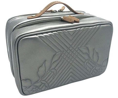 Angelina's Palace Jewelry Oragnizer Beynac Large Jewelry Case travel organizer big capacity detachable holders and snapped pouches (Memory Pewter) Review